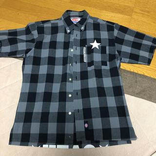 オーバーザストライプス(OVER THE STRIPES)のOver the Stripesの半袖ボタンシャツ(シャツ)