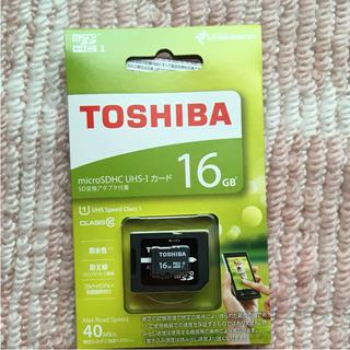 トウシバ(東芝)のmicroSDカード 16GB 東芝(その他)