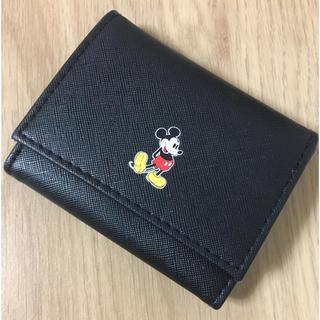 ディズニー(Disney)のmini付録 ミッキーミニ財布(財布)