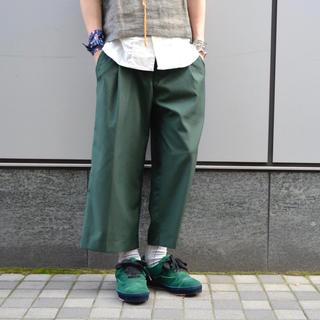 STUDIOUS - RYU × rroomm  ワイドスラックス
