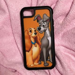 ディズニー(Disney)の上海ディズニー限定 わんわん物語iPhoneケース 6~8共通(iPhoneケース)