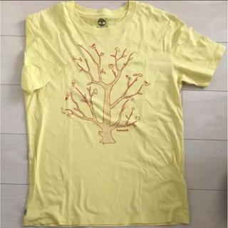 ティンバーランド(Timberland)のTシャツ Timberland ティンバーランド 薄い黄色 メンズ(Tシャツ/カットソー(半袖/袖なし))