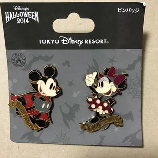 Disney - ミッキー&ミニー ピンバッチ 2014ハロウィン