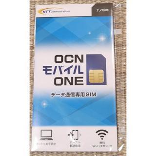 【即使用可】OCNモバイルONE データ通信カード(ナノSIM)(その他)