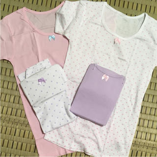 シマムラ(しまむら)のサイズ150 新品未使用半袖肌着(下着)