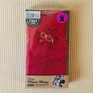 Disney - 定価3,990円【新品】★ iPhoneX★2wayケース★ミニー★Disney