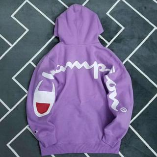 チャンピオン(Champion)のChampion/Supreme正規品フーデッドスウェットシャツ L(パーカー)