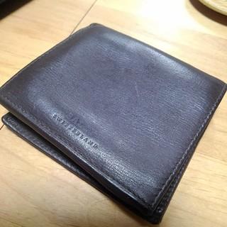 バリー(Bally)のバリー 二つ折り財布 ブラウン(折り財布)
