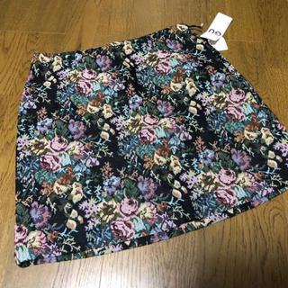 ジーユー(GU)の【再出品】GU/ゴブランミニスカート(ミニスカート)