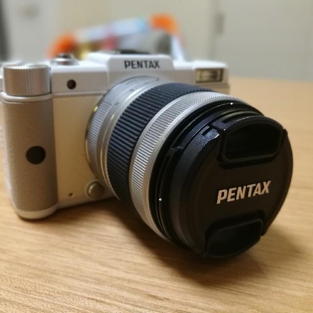 PENTAX(ペンタックス)の1/15値下げ! PENTAX Q 中古品美品ストラップなし互換バッテリー スマホ/家電/カメラのカメラ(ミラーレス一眼)の商品写真