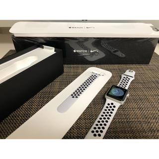 アップルウォッチ(Apple Watch)のApple Watch series3 38mm GPS ナイキモデル(その他)
