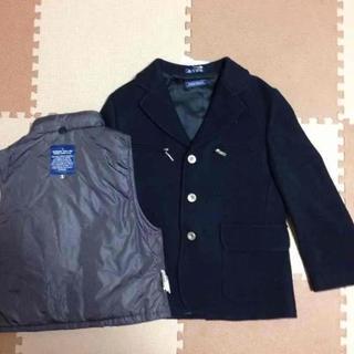 ファミリア(familiar)の半額以下 ファミリア ジャケット コート ベスト セット116cm(ジャケット/上着)