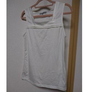 シマムラ(しまむら)のスーツのインナーに☆ノースリーブ カットソー(カットソー(半袖/袖なし))