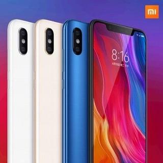 ANDROID - Xiaomi mi8  128GB/6GB ホワイト Global ver