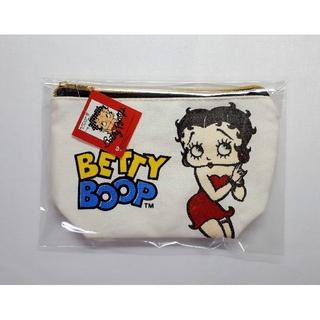 【送料無料】未使用タグ付き■BETTY BOOP/ベティちゃん■マチあり ポーチ