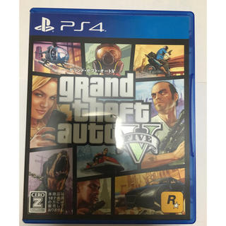 プレイステーション4(PlayStation4)のグランドセフトオート5 美品(家庭用ゲームソフト)