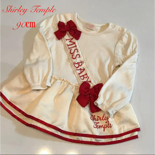 シャーリーテンプル(Shirley Temple)のシャーリーテンプル 90㎝ ワンピース チュニック(ワンピース)