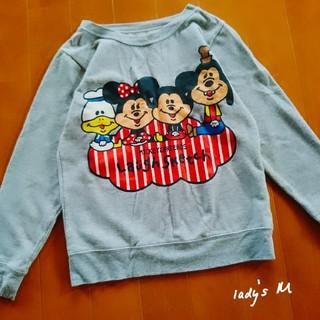 ディズニー(Disney)の【lady's】ミッキー ミニー フレンズ/長袖トレーナー M(トレーナー/スウェット)