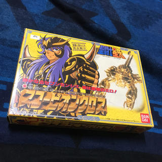 バンダイ(BANDAI)の聖闘士星矢 スコーピオンクロス 1987年 当時物 完品(アニメ/ゲーム)
