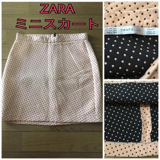 ザラ(ZARA)の美品♡ ZARA ミニスカート ドット XS(ミニスカート)
