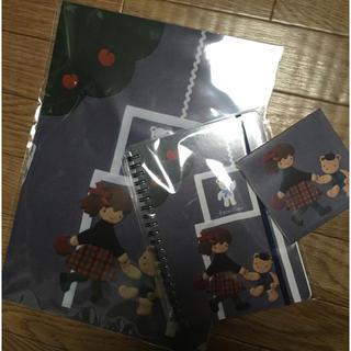 ファミリア(familiar)の新品未開封!  ファミリア 神戸本店 限定 3点セット(ノート/メモ帳/ふせん)