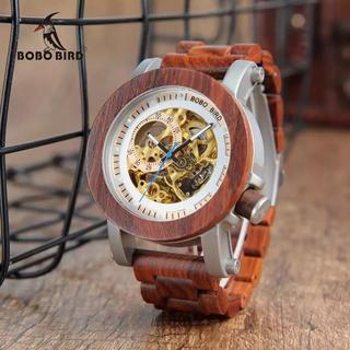 【値下げ】BOBOBIRD 木製 腕時計 メンズ