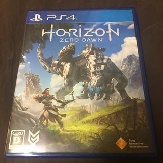プレイステーション4(PlayStation4)のps4 ホライゾン ゼロドーン(家庭用ゲームソフト)