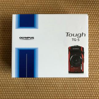最終価格 新品 オリンパス  tg-5  レッド 予備バッテリー、SDカード付き