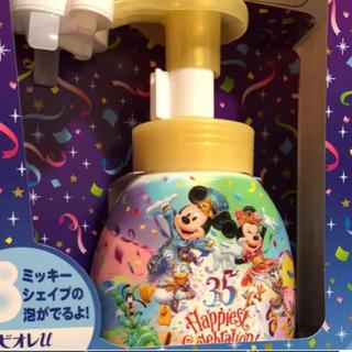 Disney - ディズニー 35周年 ミッキーシェイプ ハンドソープ ビオレ