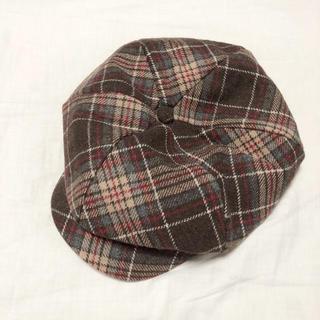 アングリッド(Ungrid)の初期大人気完売商品♡ungrid チェックキャスケット/帽子(キャスケット)