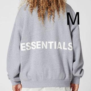 FEAR OF GOD - 送料込 FOG essentials crew neck sweatshirt