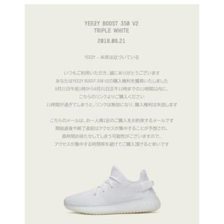 アディダス(adidas)のyeezy boost 350 v2(スニーカー)