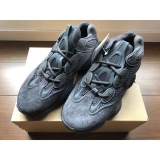 アディダス(adidas)のadidas YEEZY 500 UTILITY BLACK 25.5cm(スニーカー)