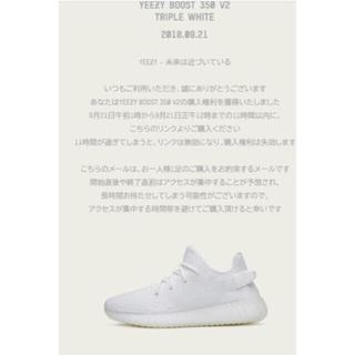 アディダス(adidas)のyeezy boost 350v2 28センチ(スニーカー)