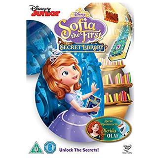 ディズニー(Disney)の新品 ソフィア プリンセス DVD ディズニー 英語 ひみつのとしょかん(キッズ/ファミリー)