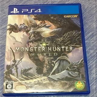 プレイステーション4(PlayStation4)のモンハンワールド(家庭用ゲームソフト)
