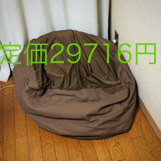 MUJI (無印良品) - ニトリ ビーズクッション ドイツ製 高級マット 4枚 オマケ:無印良品 置物