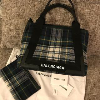 バレンシアガ(Balenciaga)の新品 バレンシアガ ネイビーカバS NAVY CABAS S 正規品(トートバッグ)