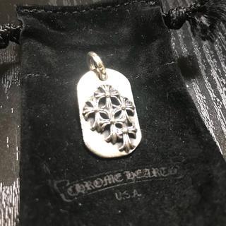 クロムハーツ(Chrome Hearts)のクロムハーツレイズドセメタリードックタグ(ネックレス)