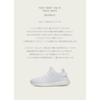 アディダス(adidas)のadidas yeezy boost 350 v2 (スニーカー)