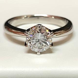 ★極上 品質保証★  プラチナ ダイヤモンドリング(リング(指輪))