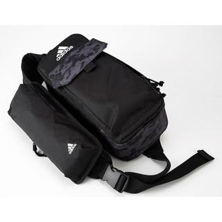 アディダス(adidas)の新品 ももクロ × adidas ボディバッグ 黒(ボディーバッグ)