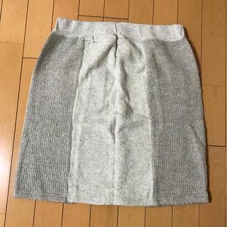 ピュアルセシン(pual ce cin)のpual ce cin  ニットスカート (ひざ丈スカート)
