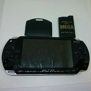 プレイステーションポータブル(PlayStation Portable)のソニー PSP-1000 プレイステーションポータブル本体 ジャンク 部品とり(携帯用ゲーム本体)