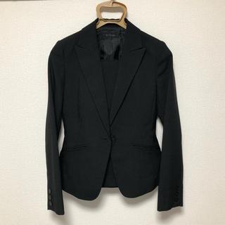 リクルートスーツ 3点セット 5号 黒(スーツ)