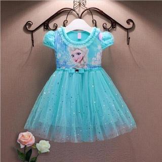 ディズニー(Disney)のエルサドレス アナと雪の女王ドレス ❤️サイズ100(ドレス/フォーマル)