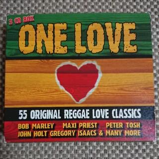 レゲエ 3枚組 全55曲 ONE LOVE(ワールドミュージック)