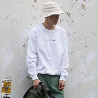 """ビームス(BEAMS)のF-LAGSTUF-F × O代官山 """"LOGO"""" SWEAT WHITE(スウェット)"""