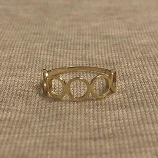 新品 K14YG ピンキーリング  3号(リング(指輪))