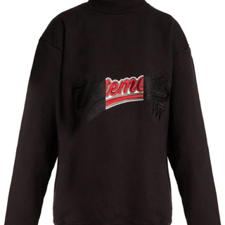 Balenciaga - 17AW VETEMENTS Embroidered Sweatshirt